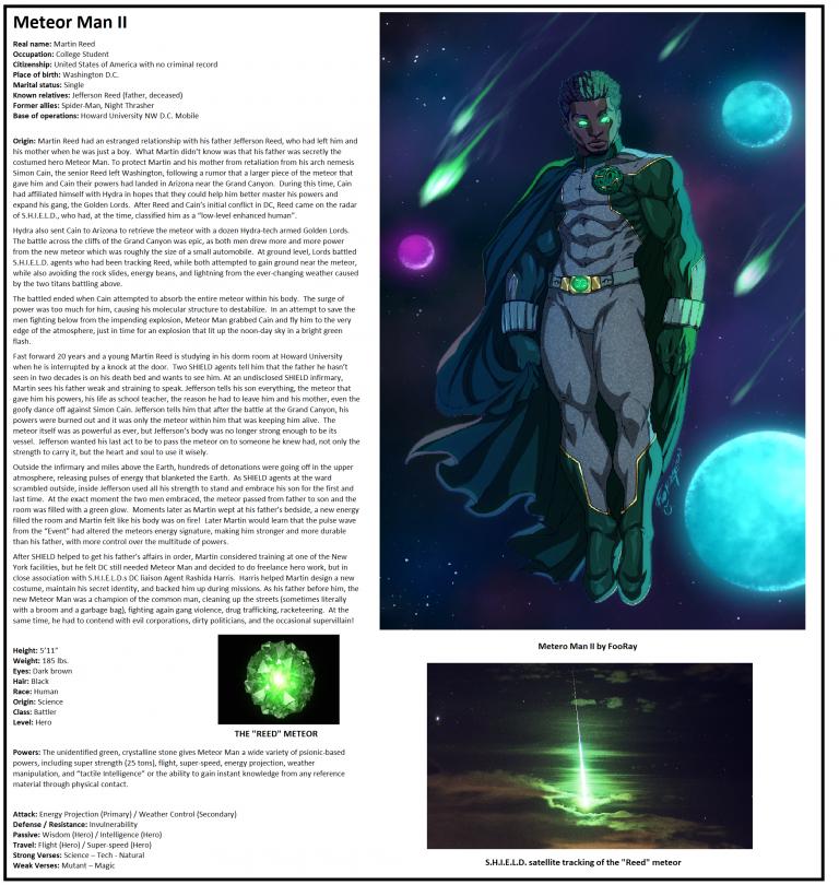 OHOTMUO Meteor Man