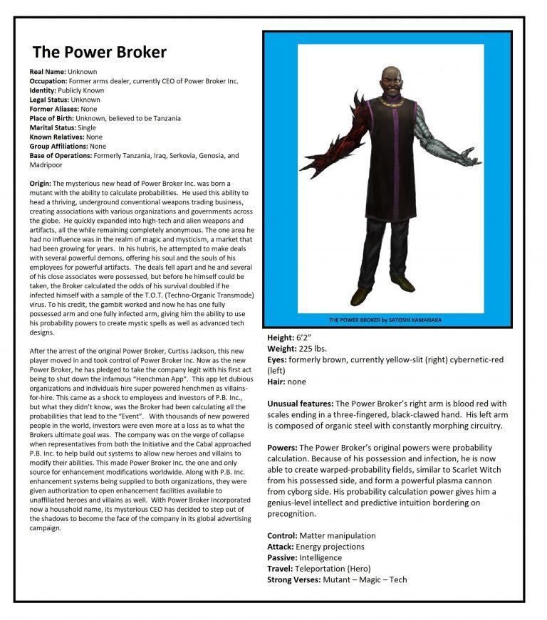 OHOTMUO Power Broker