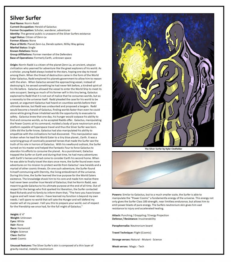 OHOTMUO Silver Surfer