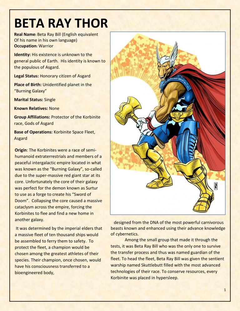 OHOTMUO Beta Ray Thor v3-1