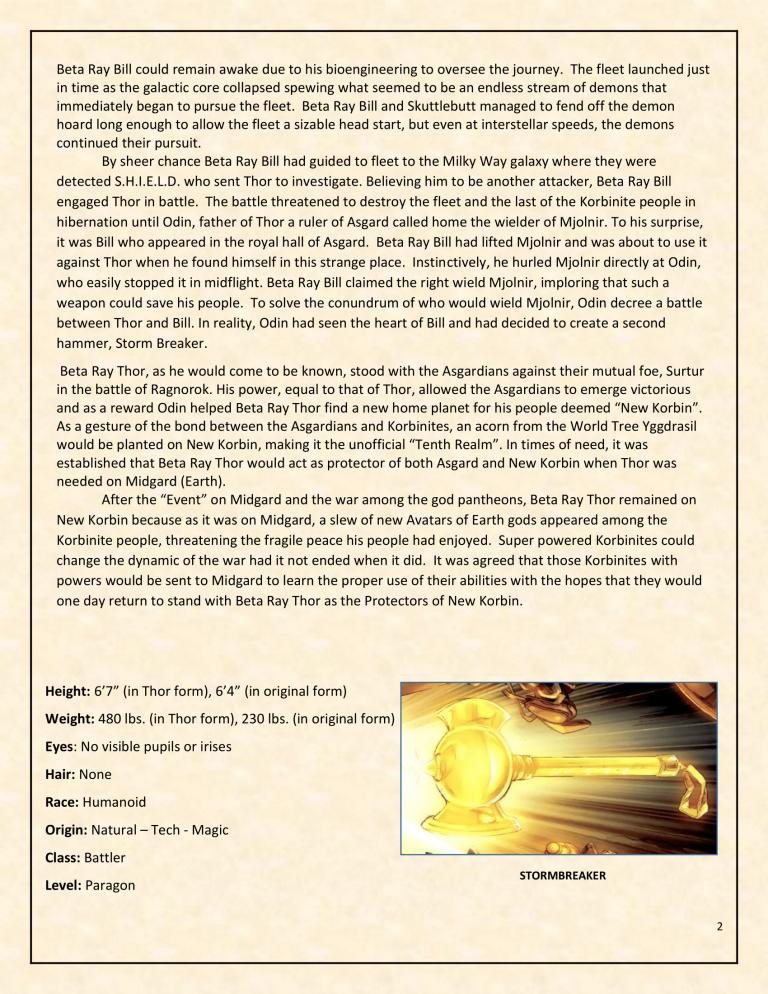 OHOTMUO Beta Ray Thor v3-2