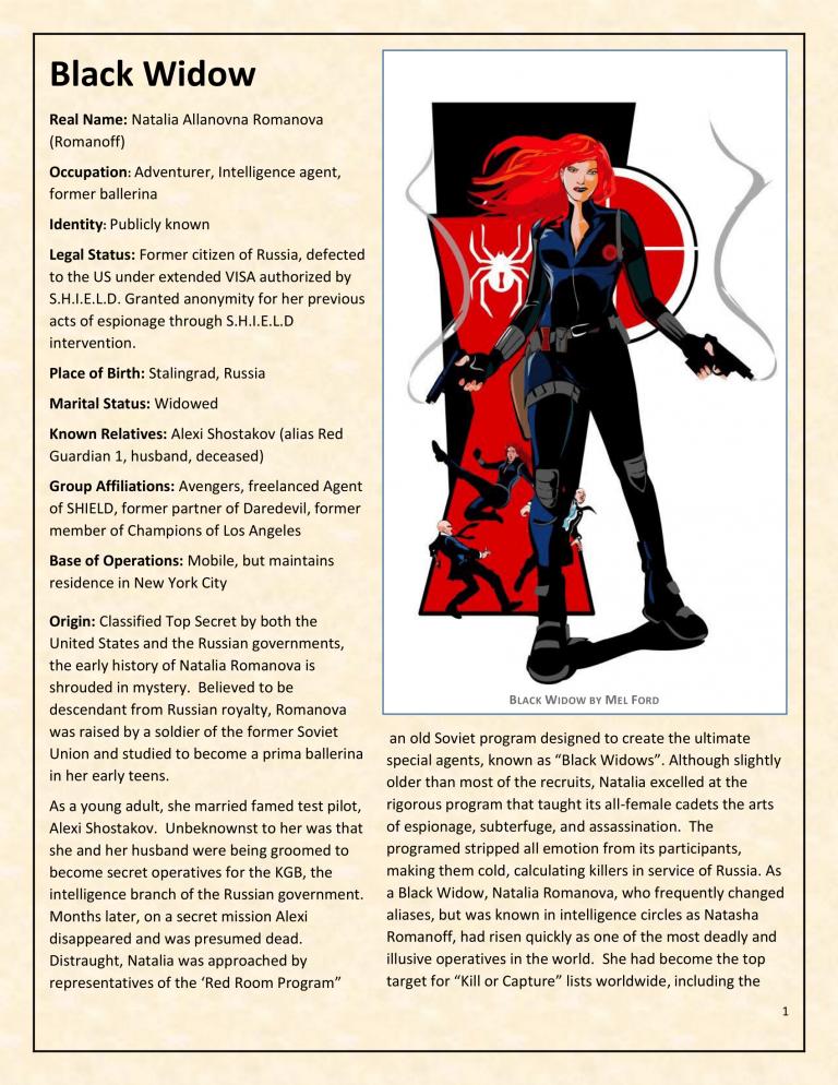 OHOTMUO Black Widow v3-1
