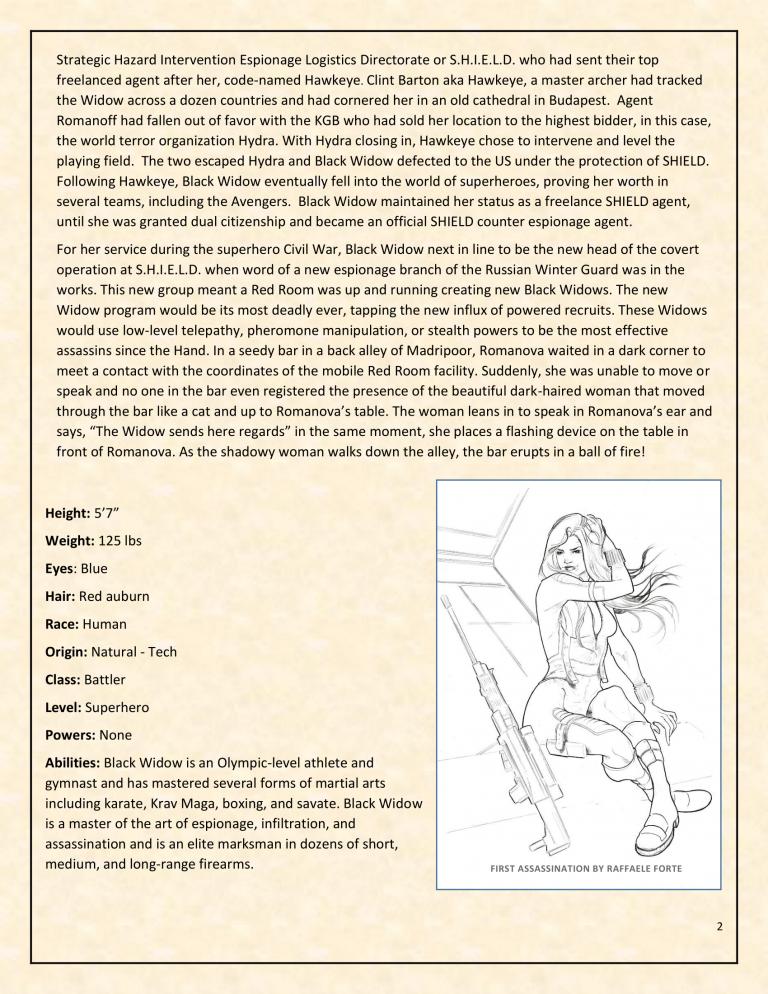 OHOTMUO Black Widow v3-2