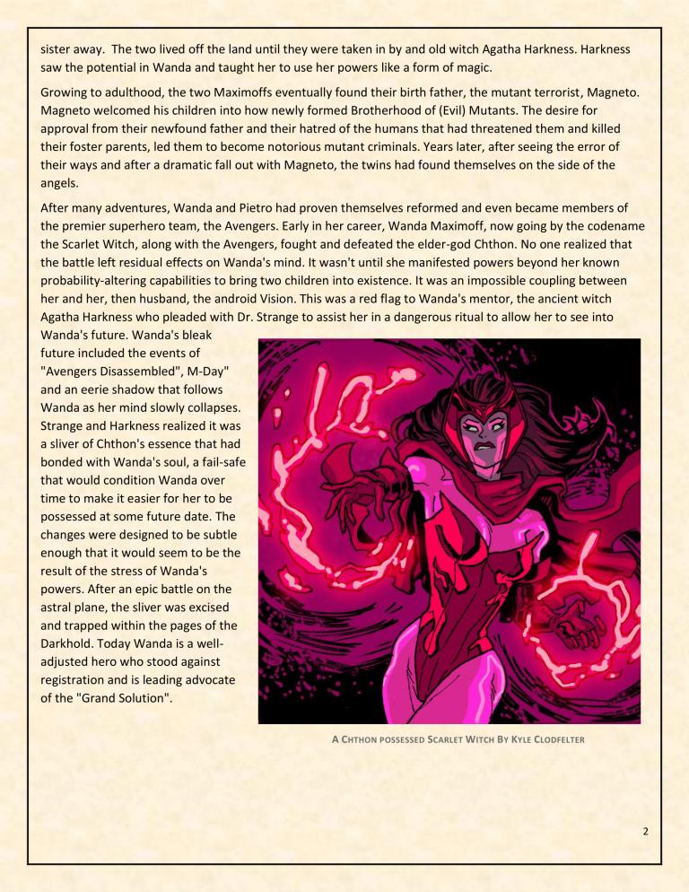 OHOTMUO Scarlet Witch v3-2