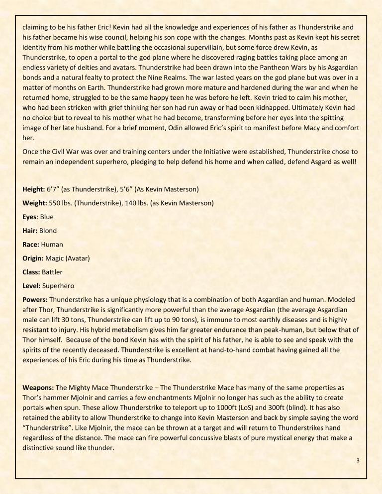 OHOTMUO Thunderstrike v3-3