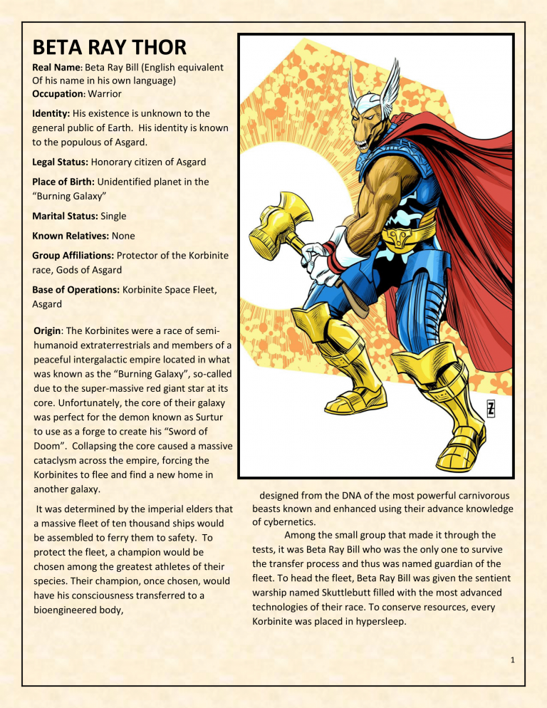 OHOTMUO Beta Ray Thor v3-1